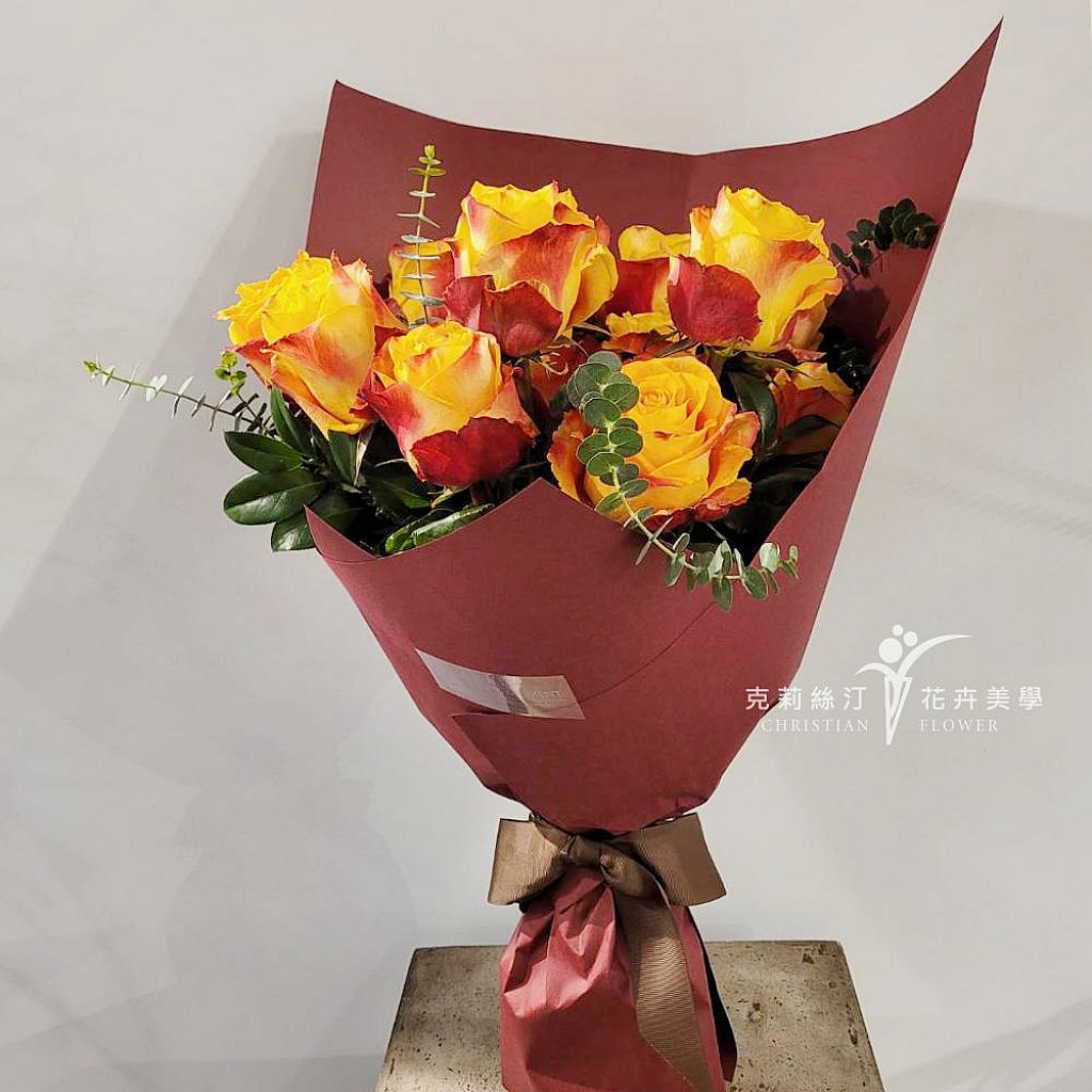 進口特級玫瑰花束Silantoi Rose